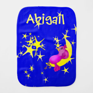 Twinkle Little Star by The Happy Juul Company Burp Cloth