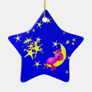 Twinkle Little Star by The Happy Juul Company Ceramic Star Decoration