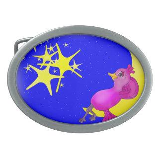 Twinkle Little Star by The Happy Juul Company Oval Belt Buckles
