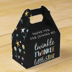 Twinkle Little Star Confetti & Chalk Baby Shower Favour Box