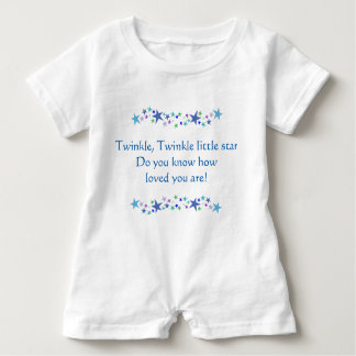 Twinkle Little Star Do You know how Loved you are Baby Bodysuit
