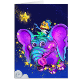 Twinkle Little Star Note Card