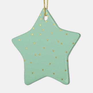 Twinkle Star Ceramic Star Decoration