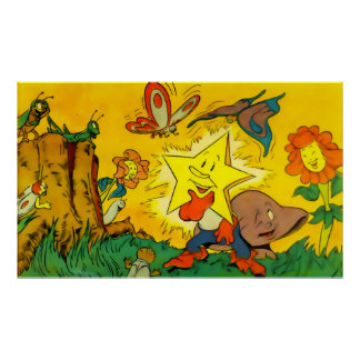 Twinkle the Star (in 23 sizes) Poster