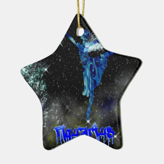 Twinkle Twinkle Aquarius is in your stars: Ceramic Star Decoration