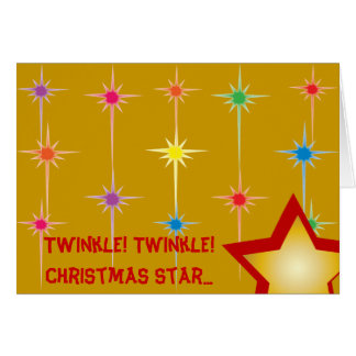 Twinkle Twinkle Christmas Star...-Customize Card