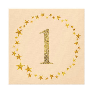 Twinkle Twinkle First Birthday Canvas Decor