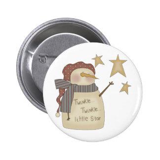 Twinkle Twinkle Litte Star Pinback Buttons