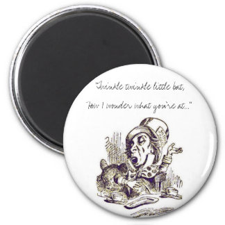 """Twinkle twinkle little bat,How I wond... 6 Cm Round Magnet"