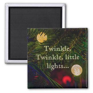 Twinkle, Twinkle, Little Lights Magnet3 Square Magnet