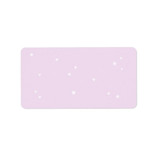Twinkle Twinkle Little Star Address Label