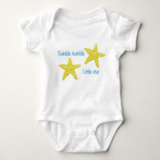 Twinkle twinkle little star baby bodysuit
