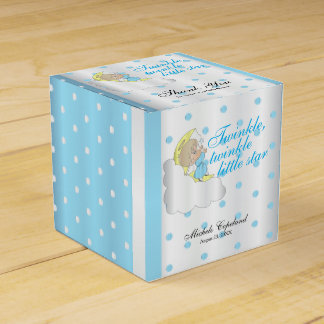 Twinkle, Twinkle Little Star -  Baby Boy Thank You Favour Box