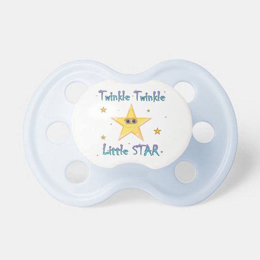 Twinkle Twinkle Little Star Baby Pacifier