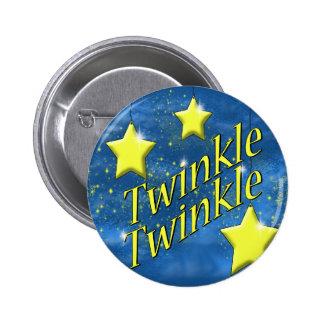 Twinkle Twinkle Little Star Pinback Buttons