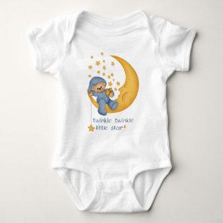 Twinkle Twinkle Little Star (blue) Infant Baby Bodysuit