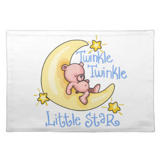 TWINKLE TWINKLE LITTLE STAR CLOTH PLACEMAT