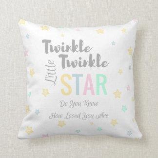 Twinkle Twinkle Little Star - Custom Baby Pillow