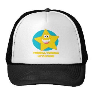 twinkle twinkle little star mesh hats