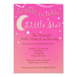 Twinkle, twinkle, little star personalized announcement