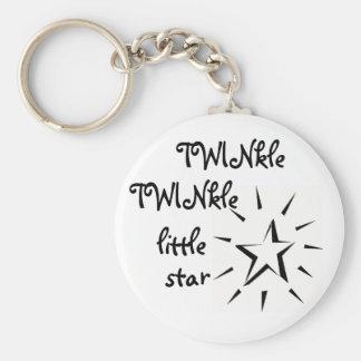 TWINkle TWINkle little star Keychains