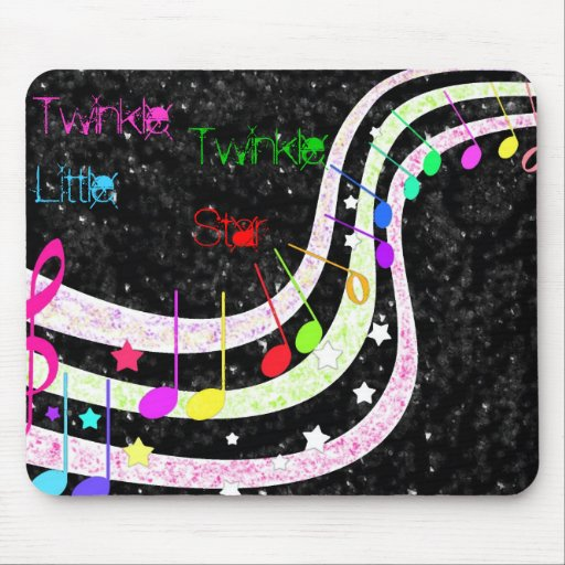 Twinkle , Twinkle, Little, Star Mouse Pad