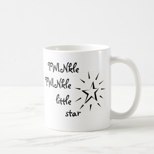 TWINkle, TWINkle little star Coffee Mugs