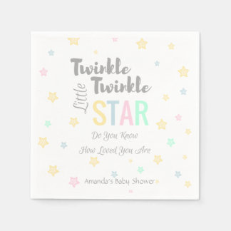 Twinkle Twinkle Little Star - Napkins Disposable Napkins