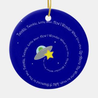 twinkle twinkle little star ornament