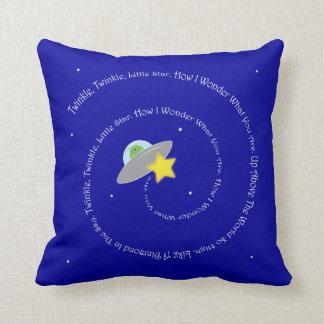 twinkle, twinkle, little star pillow