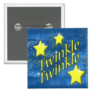 Twinkle Twinkle Little Star Pinback Button