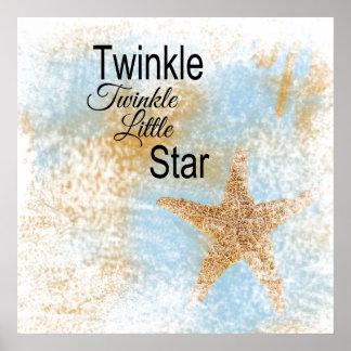 Twinkle, Twinkle, Little Star Poster