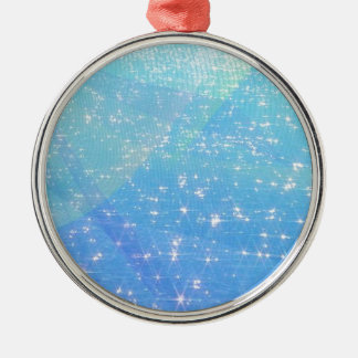 Twinkle Twinkle Little Star Silver-Colored Round Decoration