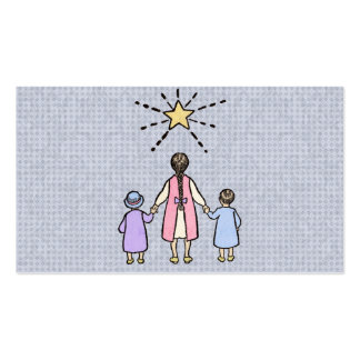 Twinkle, Twinkle Little Star Vintage Nursery Rhyme Business Card Templates