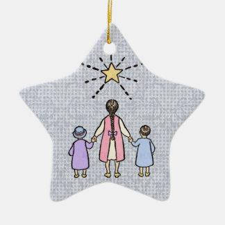Twinkle, Twinkle Little Star Vintage Nursery Rhyme Christmas Ornament