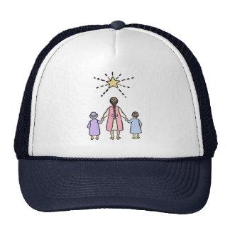 Twinkle, Twinkle Little Star Vintage Nursery Rhyme Mesh Hats