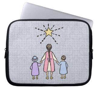 Twinkle, Twinkle Little Star Vintage Nursery Rhyme Laptop Computer Sleeve