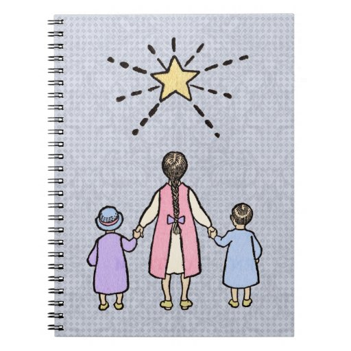 Twinkle, Twinkle Little Star Vintage Nursery Rhyme Notebooks