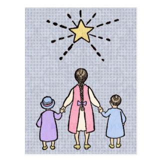 Twinkle, Twinkle Little Star Vintage Nursery Rhyme Post Cards