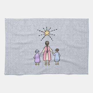 Twinkle, Twinkle Little Star Vintage Nursery Rhyme Towel