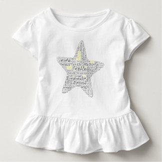 Twinkle Twinkle Little Star Word Art Toddler T-Shirt