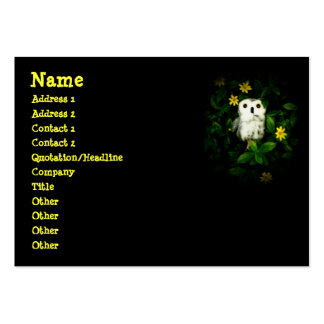 Twinkle Twinkle Little Stars Owl Namecard Business Card Templates