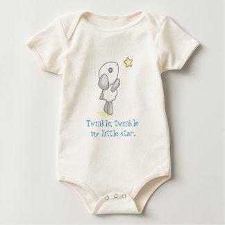 Twinkle, twinkle  my little star. baby bodysuit