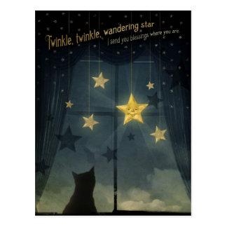 Twinkle, Twinkle, Wandering Star Postcard