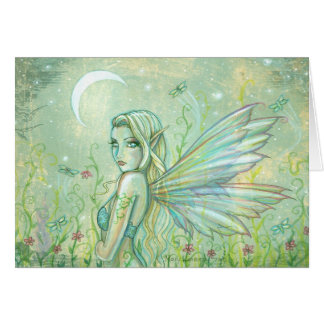 Twinkling Night Fairy Greeting Card