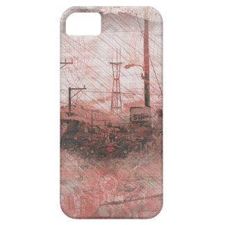 TwinPeaks SanFrancisco exploded Island Case For The iPhone 5