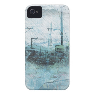 TwinPeaks SanFrancisco exploded Island Case-Mate iPhone 4 Case