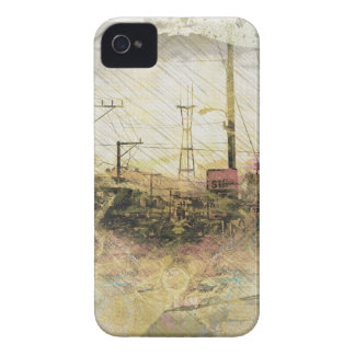 TwinPeaks SanFrancisco exploded Island Case-Mate iPhone 4 Cases