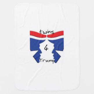 Twins4Trump blanket Baby Blanket