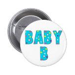 Twins Baby B Brights Badge